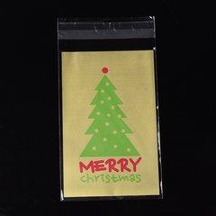 Cellofaan zakjes kerst