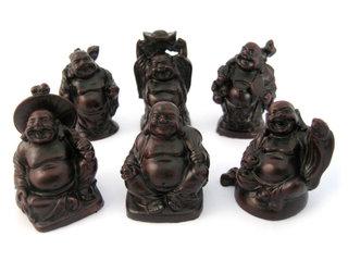 Geluksmunten boeddha