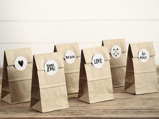Kraft zakjes en papieren zakjes alles voor bedankjes for Papieren kraft zakjes