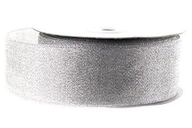 Lint Zilver Metallic 4 cm