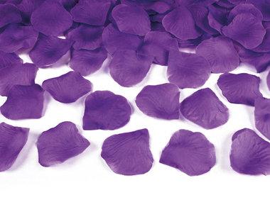 Strooiblaadjes paars