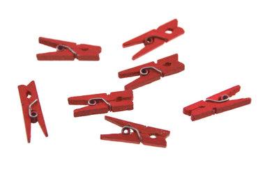 Wasknijpertjes rood