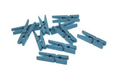 Wasknijpertjes licht blauw 3 cm