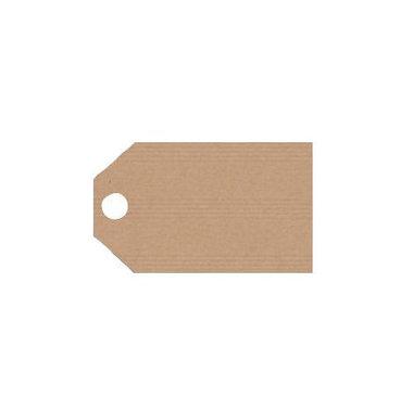 Kraft labels 2.5 x 5.5 cm