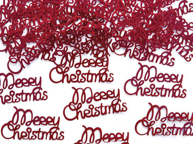 Kerst confetti strooimix merry christmas