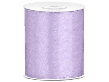 Lavendel satijn lint 10 cm breed