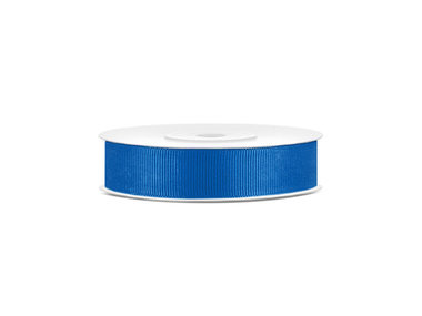 Grosgrain lint 15 mm breed blauw