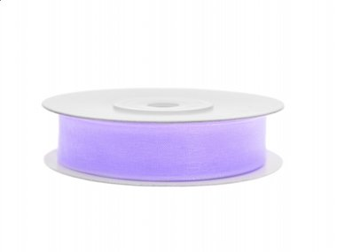 Organza lint 12 mm Lavendel