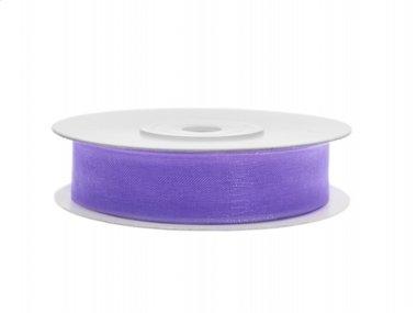Organza lint 12 mm Lila