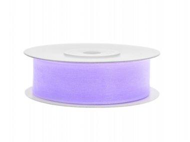 Lavendel organza lint 2 cm breed
