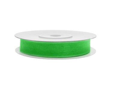Organza lint 6 mm groen