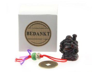 Geluksdoosje boeddha doosje bedankt