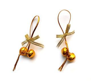 Kerstbelletjes goud 10 stuks