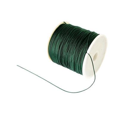Nylonkoord 1 mm donker groen