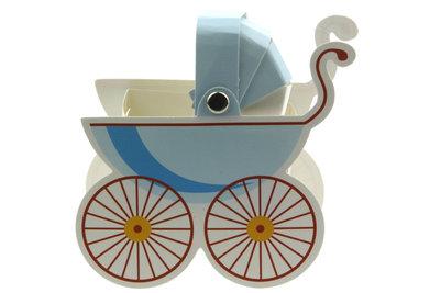 Kinderwagen doosje Blauw