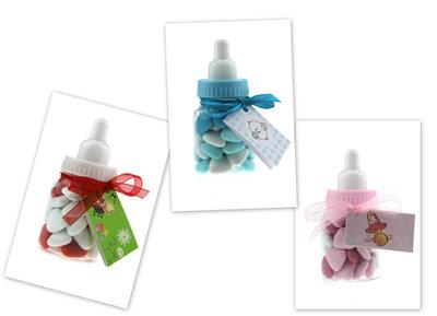 Geboortebedankjes papflesje met doopsuiker