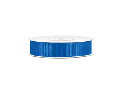 Grosgrain lint 15 mm breed blauw