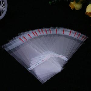 Cellofaan zakjes handmade 5 x 13 cm 10 stuks