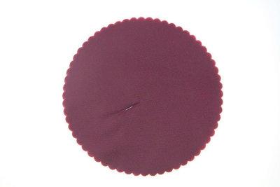 50 Tule cirkels Bordeaux rood