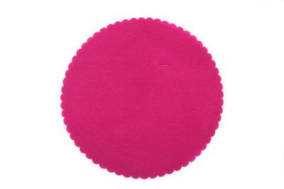 50 Tule cirkels Fuchsia roze