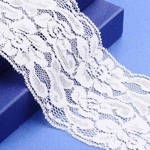 Elastisch kant 7.5 cm breed off-white